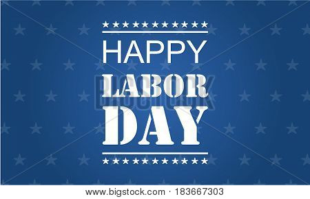 Happy labor day vector illustration collection stok