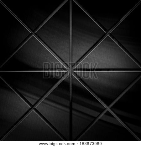 abstract black metal pattern background