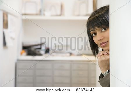 Indian woman in office