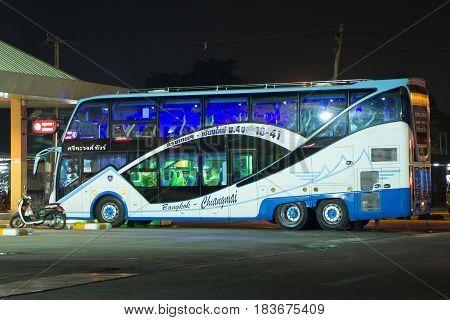 Srithawong Tour Company Bus Route Bangkok And Chiangmai