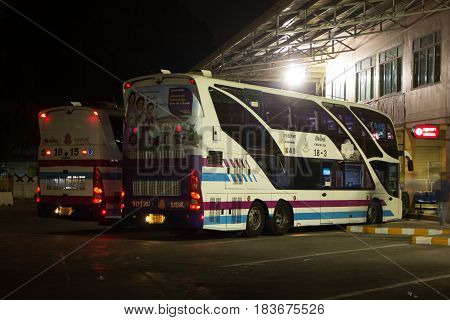 Bus Of Sombattour Company.