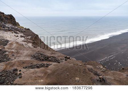 Ocean Coast. Vik Region, Iceland