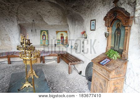 Bulgaria Rock Church