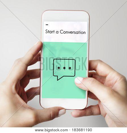 Social Media Connection Online