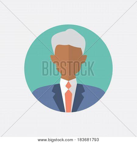 Avatar men design. Men icon. Vector illustration