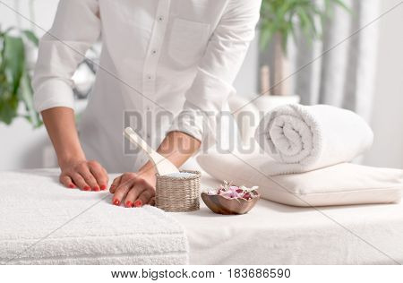 Place For Relaxation In Wellness Spa Center
