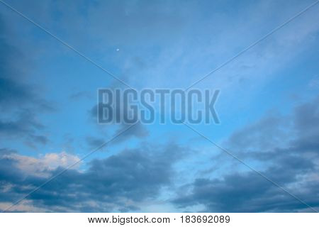 sky cloud nature on air and background at night