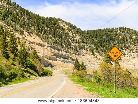 Road Signs In The Mountains