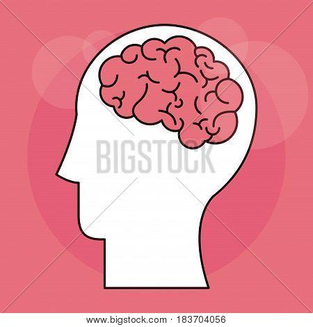 human head mind vector illustration vector illustration design