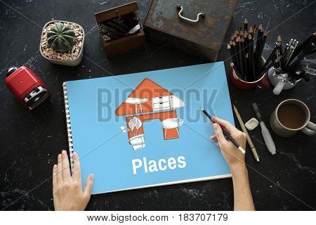 Living Places Design Ideas Concept
