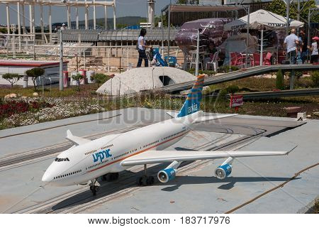 Miniature Of  Ben-gurion Airport Runway, At Mini Israel - A Miniature Park Located Near Latrun