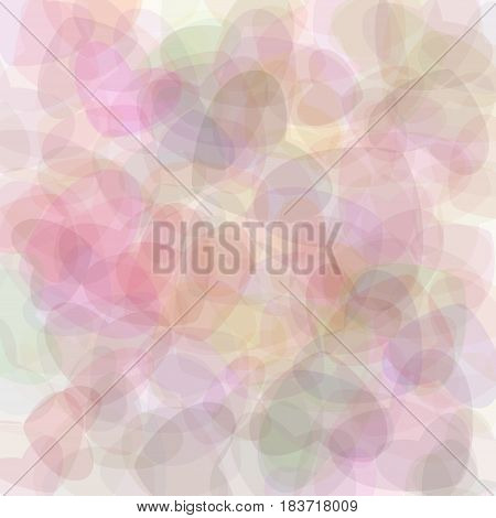 Retro pink vector pastel background, colored illustration