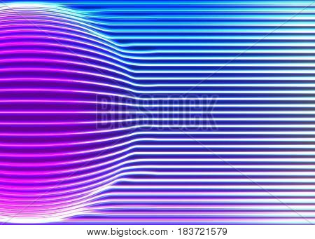 Neon lines background with glowing 80s retro vapor wave style