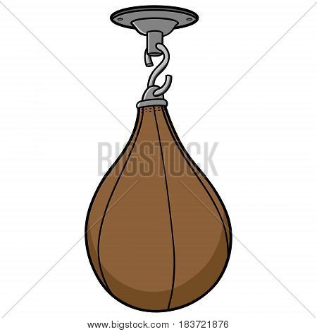 A vector illustration of a Punching bag.
