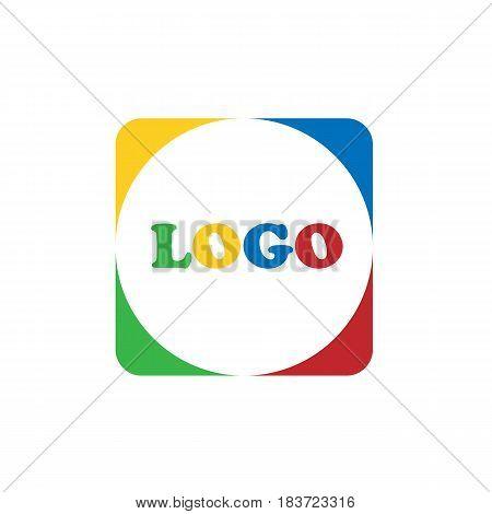 logo isolated on background. Vector illustration. Eps 10.