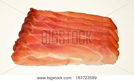 Italian Speck, Smoked Tasty Ham