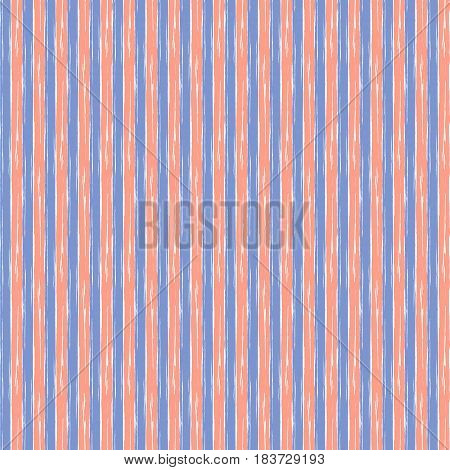 Vector Set Of Seamless Patterns With Hand Drawn Vertical Stripes. Ccreative Artistic Lined Backgroun
