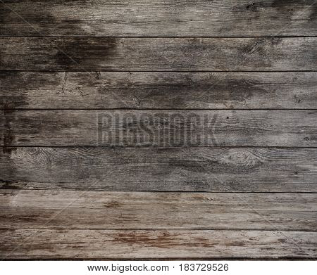 the old dark close up wooden background