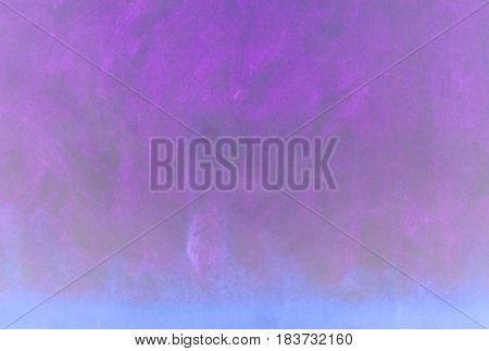 Magical illuminated violet and blue gradient empty background