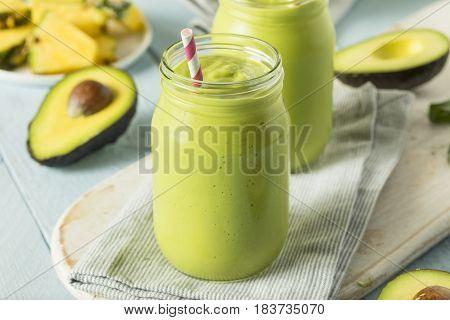 Healthy Homemade Avocado Smoothie