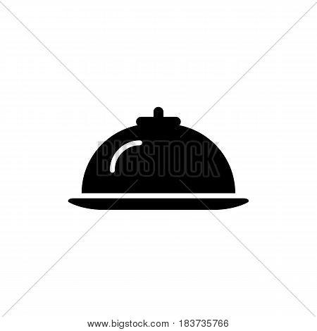 Hotel restaurant food line icon. eps 10
