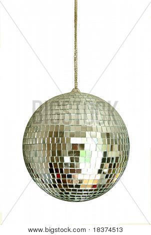 discoball on chainlet isolated