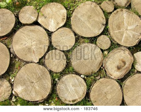 Logs Background
