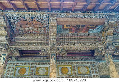 Ceiling Of Inner Sanctum