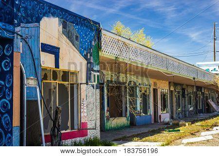 Abandoned Motel Units Vandalized & Left With Major Damage