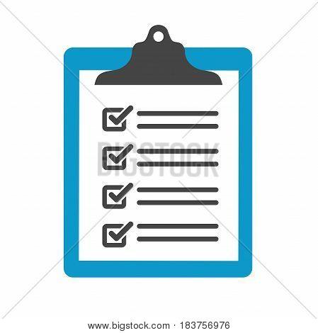 Singletasking or Monotasking icon with checkmark & clipboard