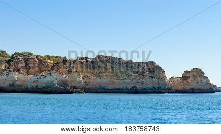 Prainha In Algarve Portugal