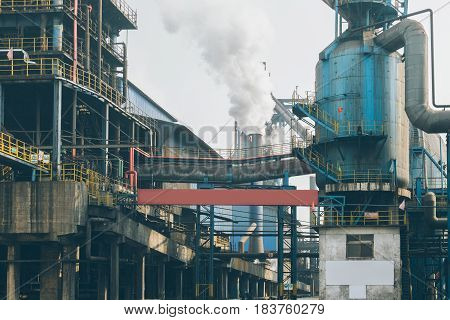 interior view of a steel factorysteel industry in city of China.