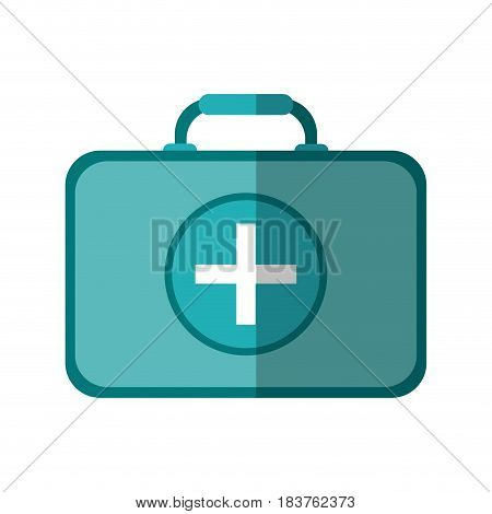 first aid kit healthcare icon image vector illustration design