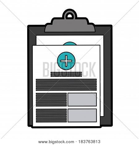 medical history healthcare icon image vector illustration design