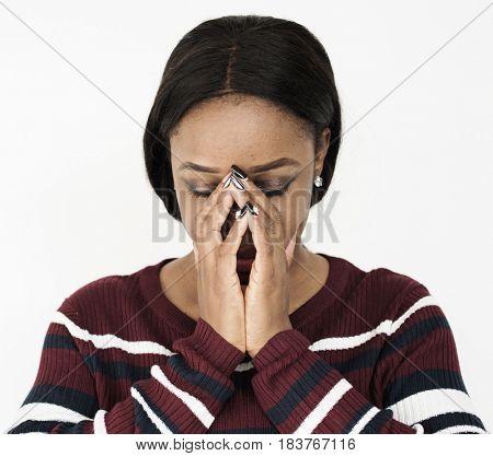 Adult Woman Sad Depression Emotion