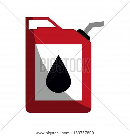 cannister oil industry related icon image vector illustration design