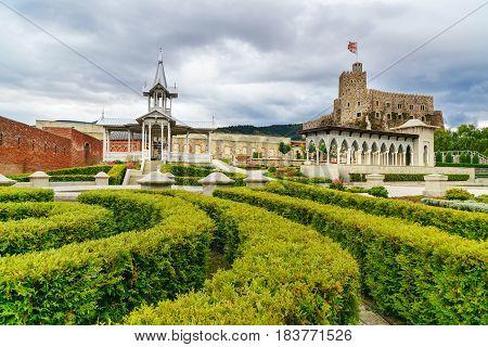 In The Garden Of Rabati Castle In Akhaltsikhe, Georgia