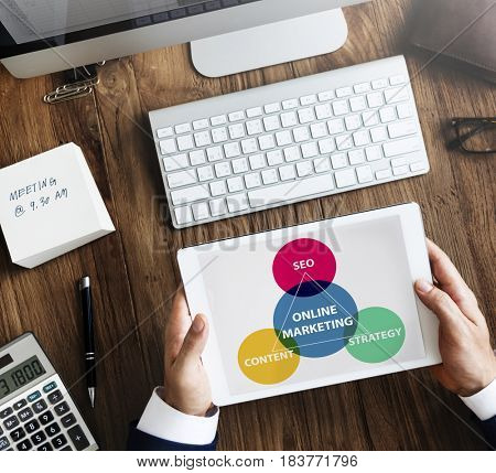 Business Branding Marketing Advertising Concept
