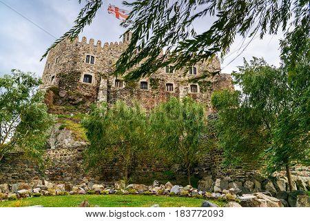 Citadel In Rabati Castle In Akhaltsikhe, Georgia