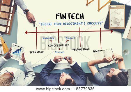Marketing Start up Plan Fintech