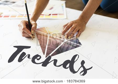 Trends Diamond Fashion New Word