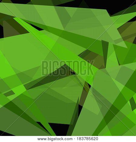 Green abstract background.  beautifu futuristic symmetrica Wallpaper.