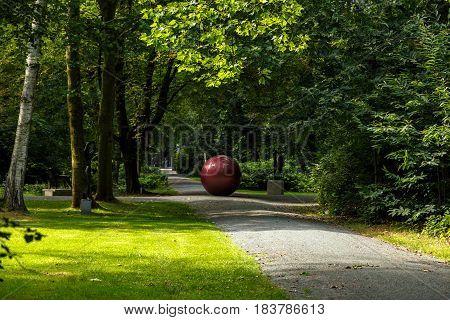 Middelheim Park In Antwerp