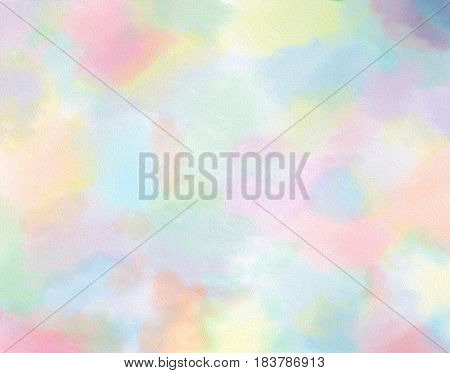 Soft candy pastel colour stained mania background