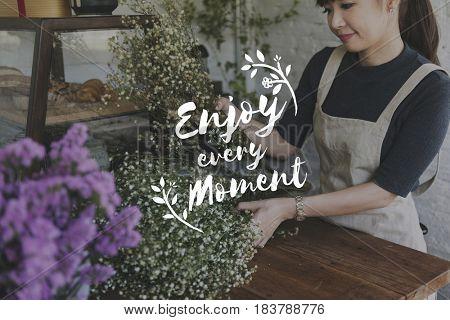 Passion Enjoy Moment Activity Positive Graphic