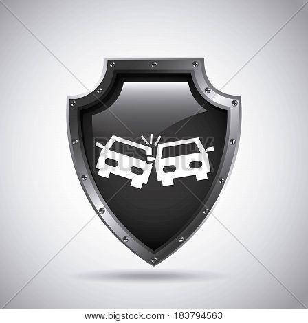 car insurance concept icon vector illustration design