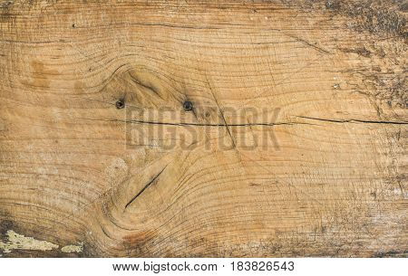 Old rustic discolored wooden board texture and background