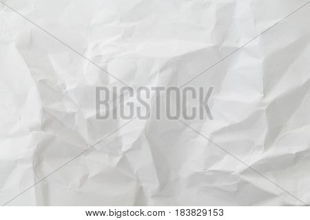 White creased paper background texture