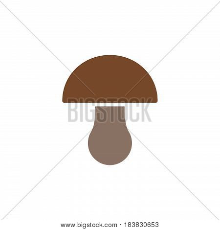 Mushroom icon vector filled flat sign solid colorful pictogram isolated on white. Symbol logo illustration. Pixel perfect