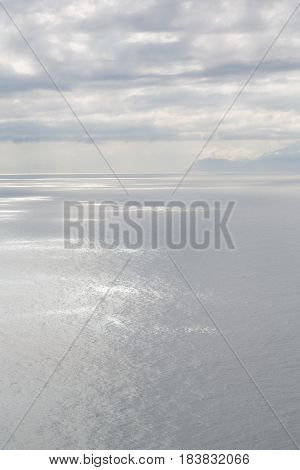 In South Africa Coastline   And Light
